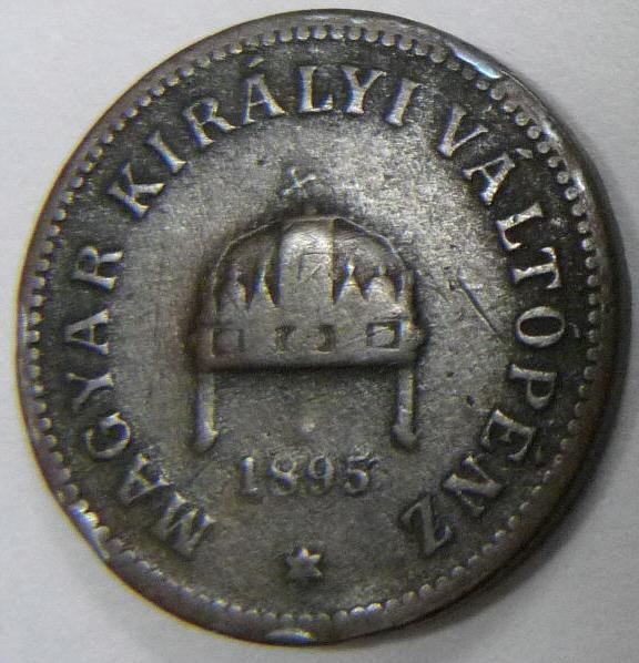 2 Filler. Hungría. 1895. Budapest  HUN_2_Filler_anv