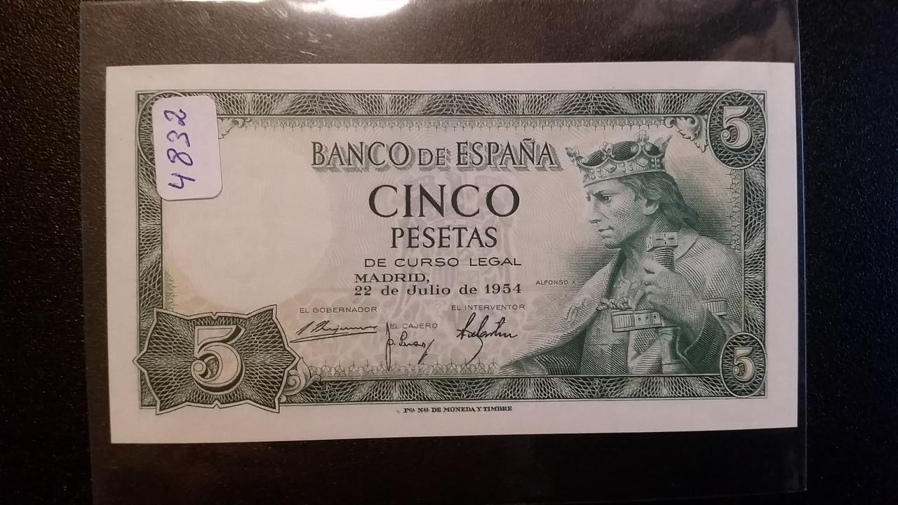 Colección de billetes españoles, sin serie o serie A de Sefcor pendientes de graduar 20161217_123226