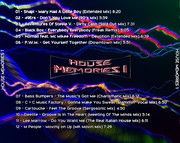 [House] House Memories 1 - CD - 2017 - FLAC (Exclusive) House_memories_1_back
