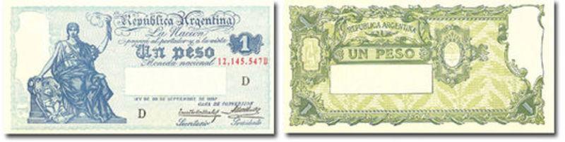 1 Peso Argentina, 1947 REVERSO_1_PESO_1903