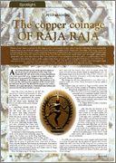 Moneda de Raja Raja chola RR1