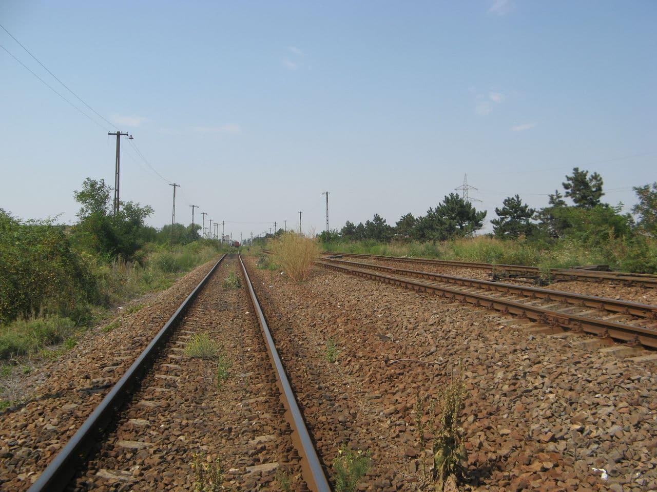 Calea ferată directă Oradea Vest - Episcopia Bihor IMG_0071