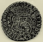 8 reales tipo COLUMNARIO Felipe V , ceca de México 1740. Img001