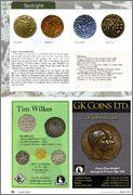 Moneda de Raja Raja chola RR3