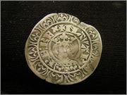 """Gros de busto de Carlos II """"el Malo"""" (1349-1387) de Navarra P3170209"""