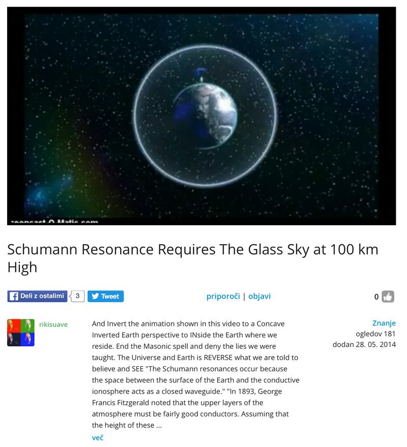 Die Erde, in der wir leben und der Raum, der die Welt ist - Seite 24 Resonanz