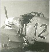 """Bf-109 g-6AS W.Oesau """"Az model"""" 1/72 022"""