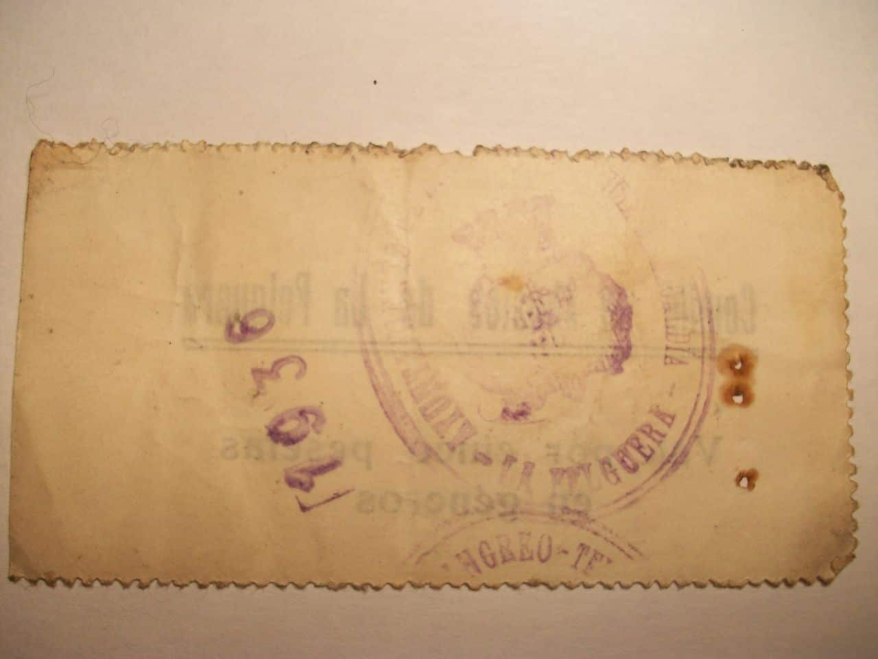 5 Pesetas Comité de abastos de La Felguera 1936 100_1564