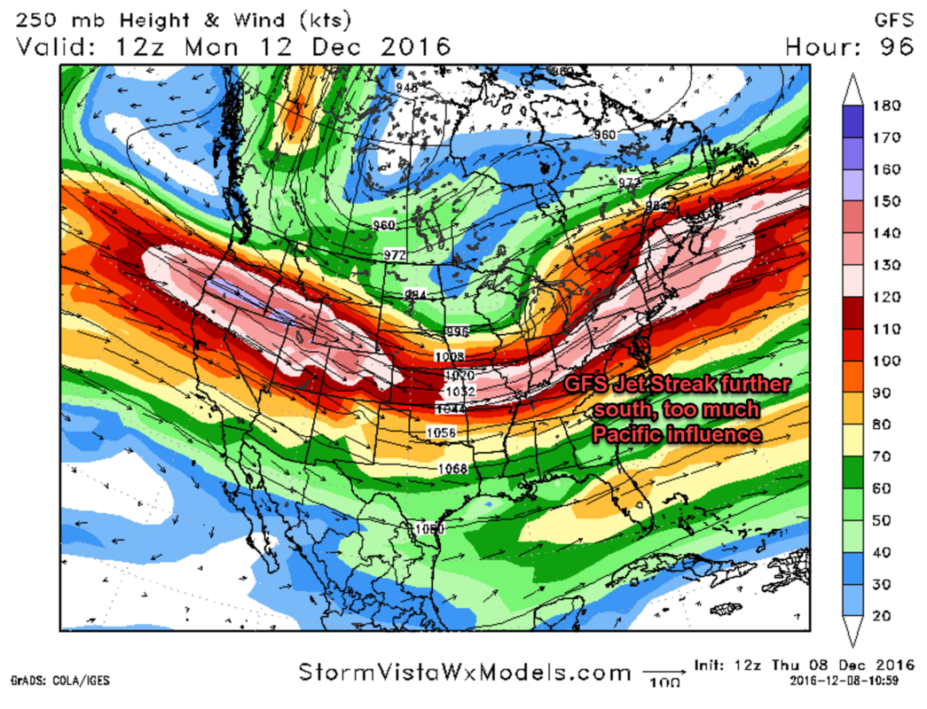 Monday 12/12 Storm Update #1 GFS_Jet_Streak
