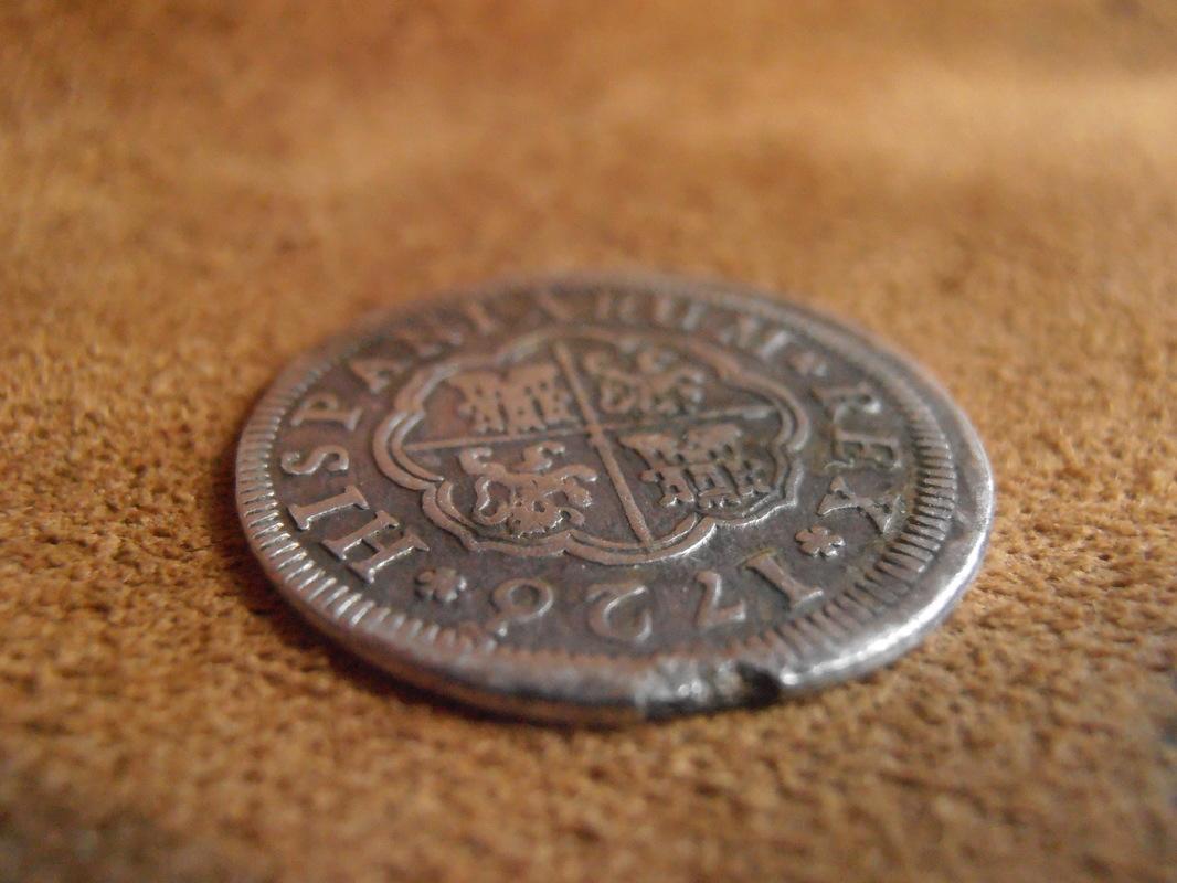 1 Real Felipe V , ceca de Segovia-1726. P3080003