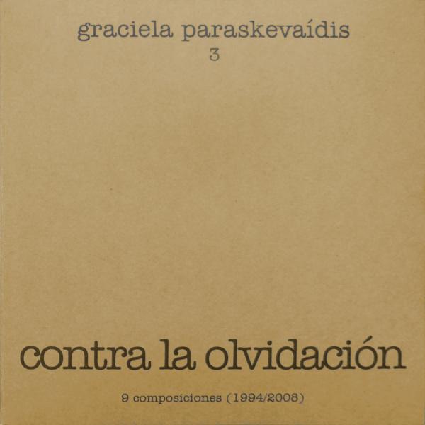 Graciela Paraskevaídis (1940–2017) Paraskevaidis3