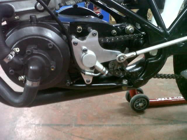 Embrague hidraulico en Bultacos. 330wmbo