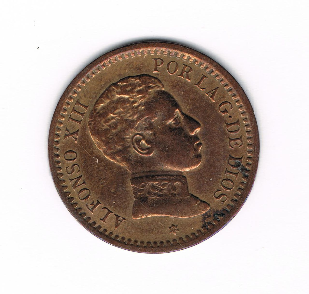 2 Céntimos 1905 Alfonso XIII 2_Cts_1905