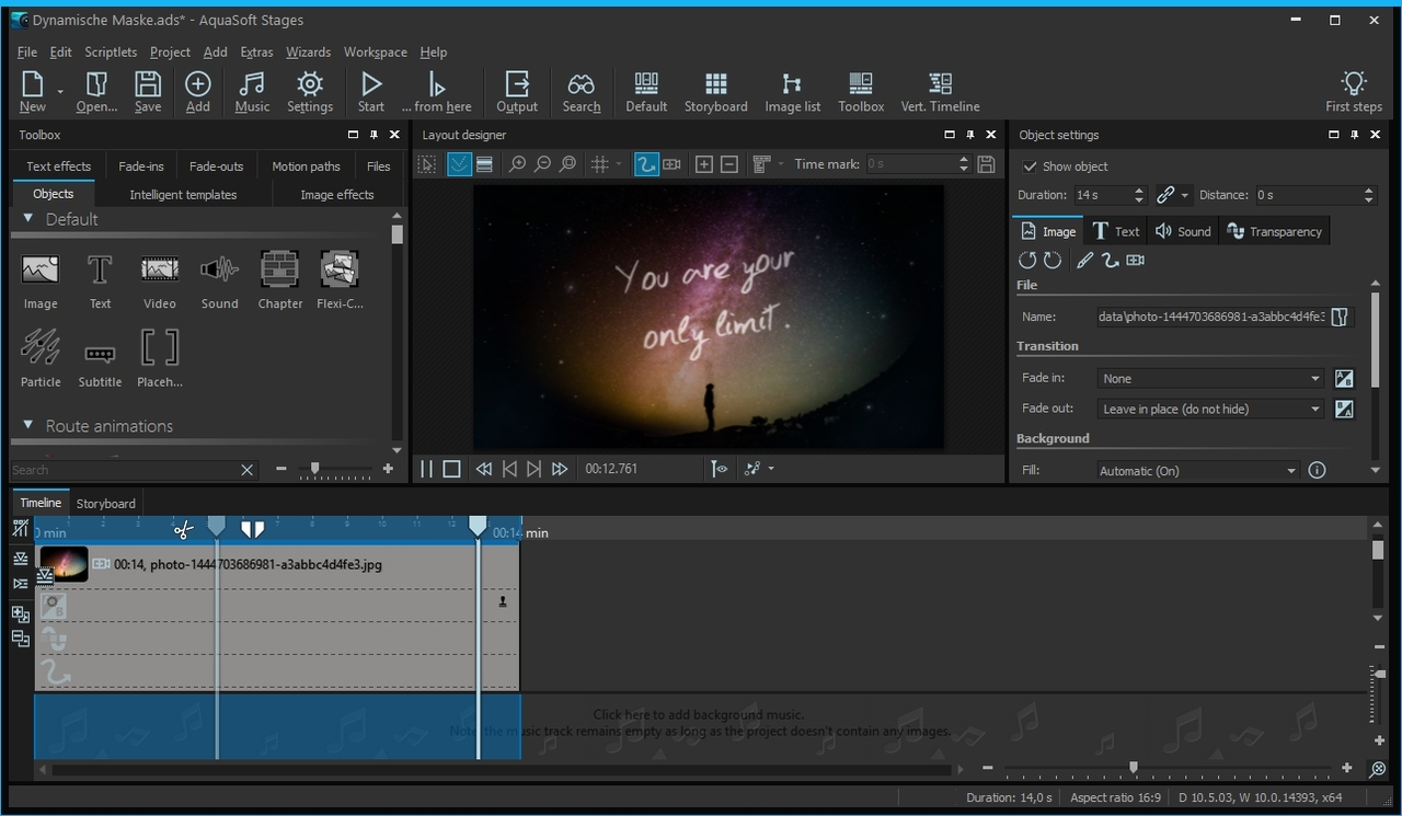AquaSoft Stages 10.5.05 x64 Multilingual Portable Screenshot_20170718_122313