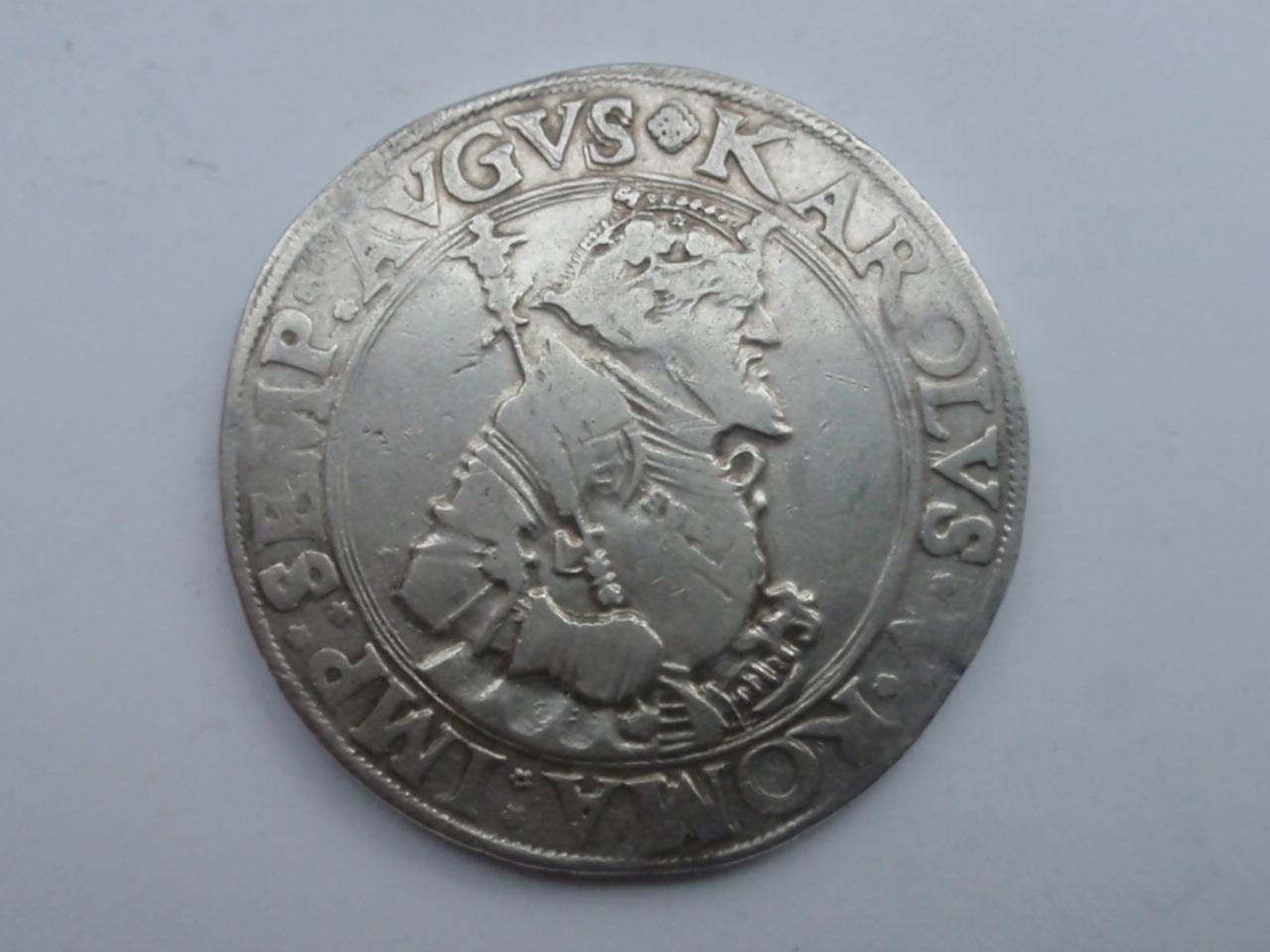 Thaler de Carlos V - 1540. Kempten.  Ci_anv