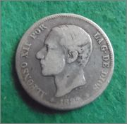 Alfonso  12  - 2 pesetas - 1882 - Moneda P3020014