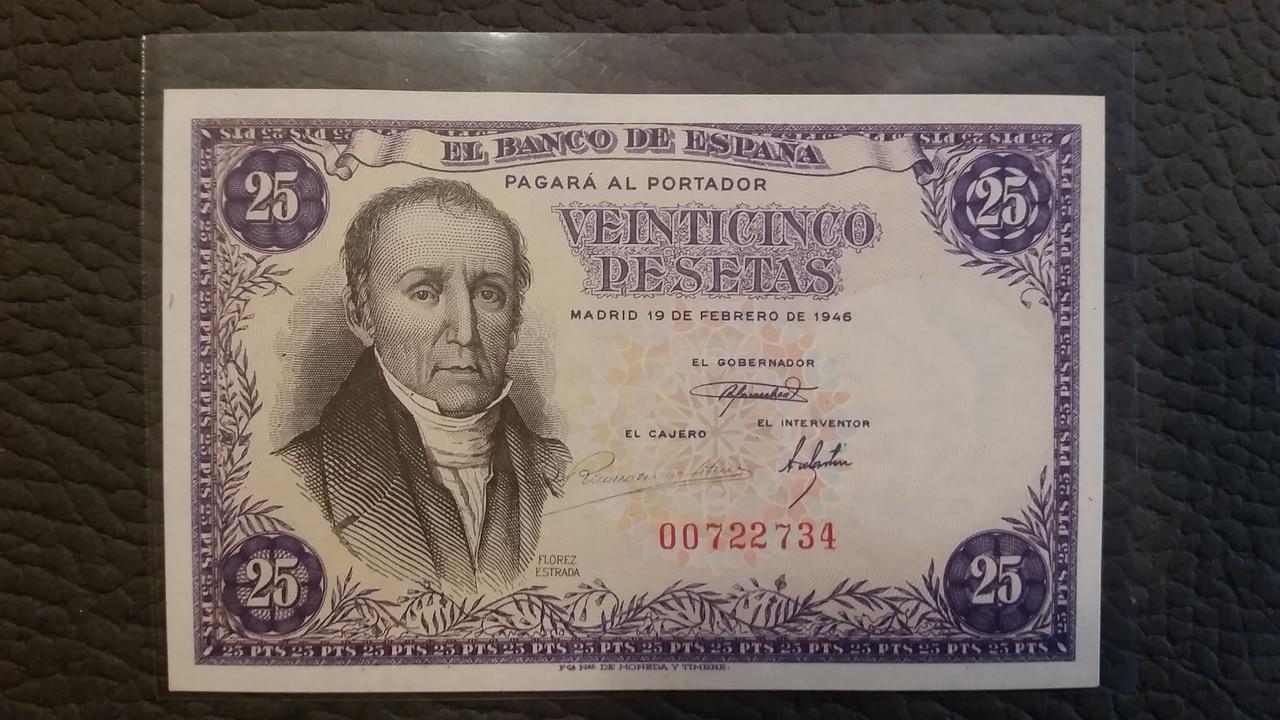 Colección de billetes españoles, sin serie o serie A de Sefcor pendientes de graduar 20161217_113734