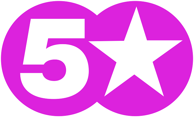SUPER 5 STAR IPTV PREMUIM VALID FOR 2 MONTH 12-03-2017 Channel_5_Star_svg