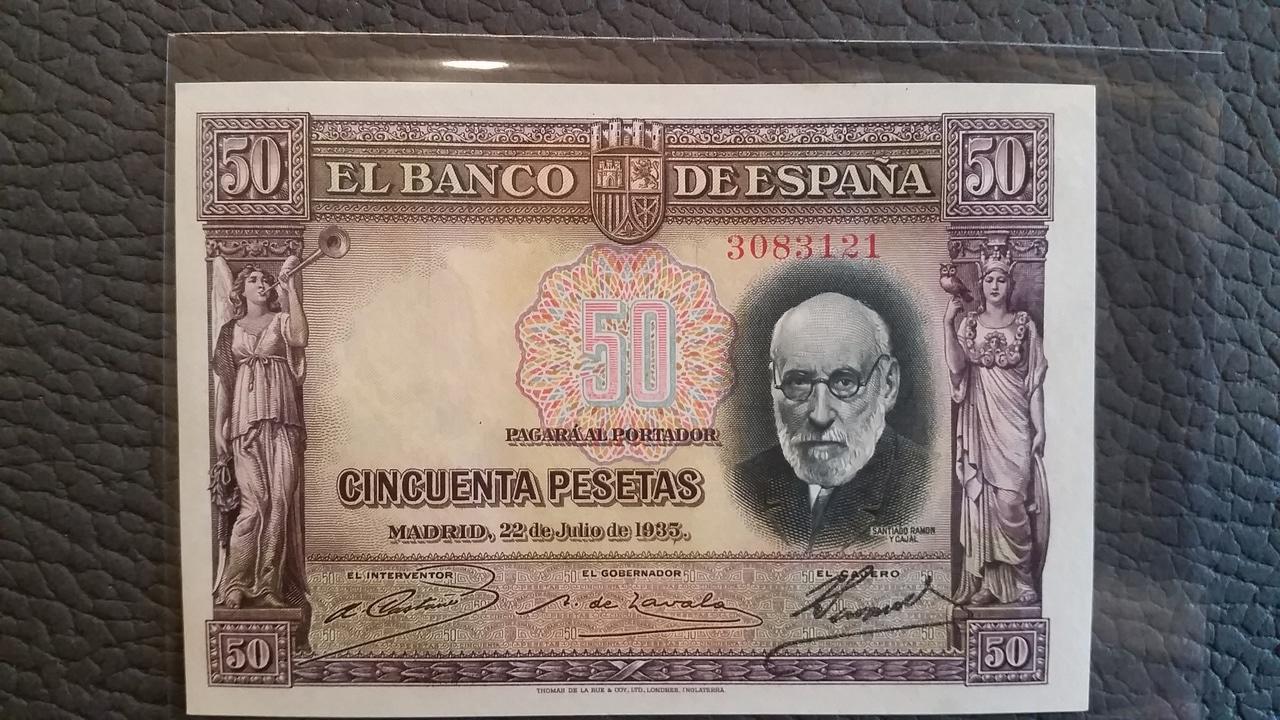 Colección de billetes españoles, sin serie o serie A de Sefcor pendientes de graduar - Página 2 20161217_114758