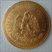 50 Pesos 1927 MEXICO ( Centenario) Image