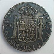 8 Reales de Carlos IIII 1808 PJ Carlos_IIII_1808_REVERSO