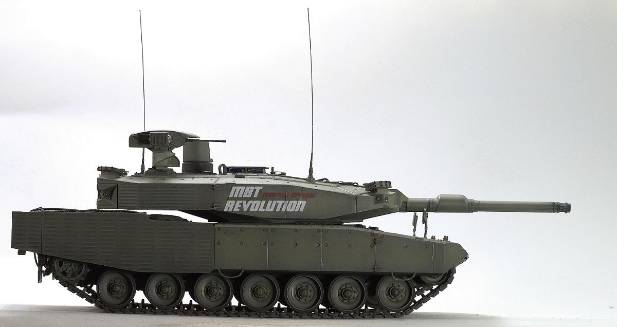 Leopard II Revolution I/ Tiger Model 1/35 Image