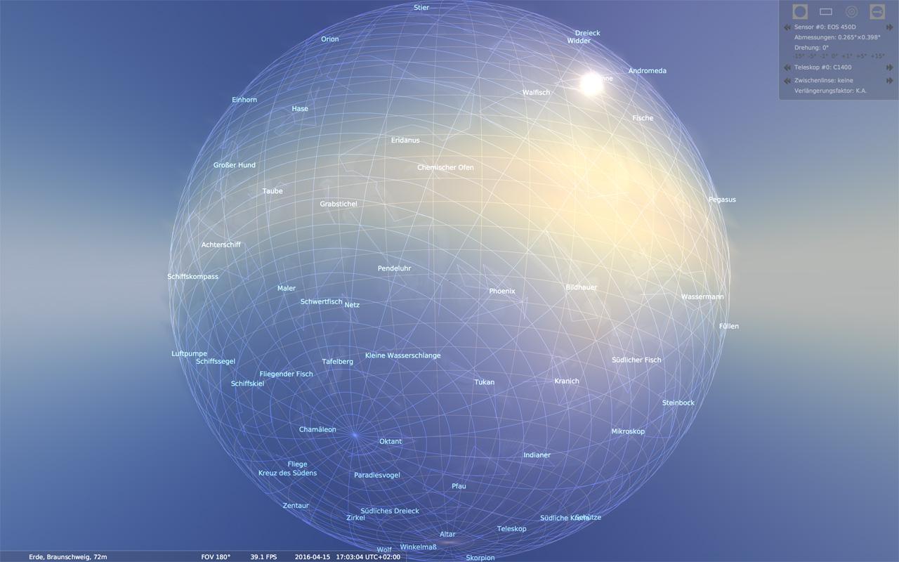 Die Erde, in der wir leben und der Raum, der die Welt ist - Seite 49 Stellarium_03