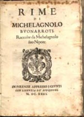 Michelangelo Buonarroti Book