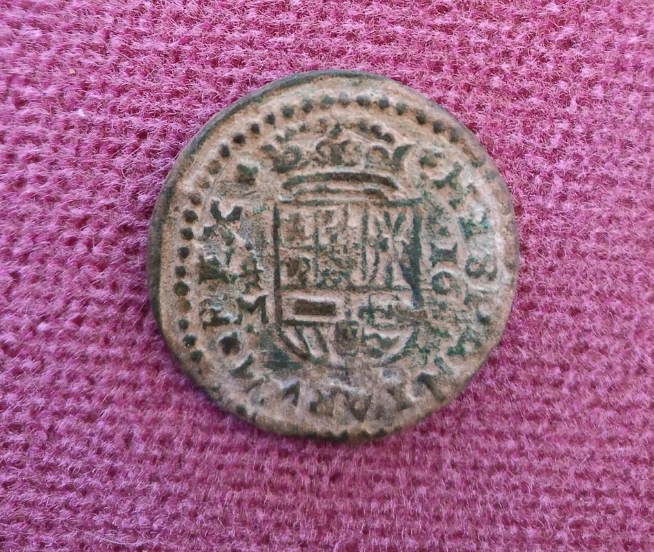 16 Maravedis Felipe IV ceca de Trujillo. IMG_20170309_141827