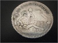Piastra Infante Carlos III 1735 Napoles P5190015