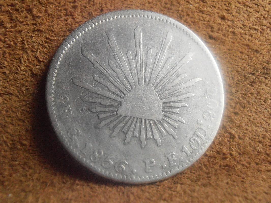 4 Reales 1856 Guanajuato P2248604
