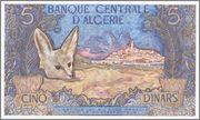 5 Dinars Argelia, 1970 Algeria_P126_5_dinars_1970_R