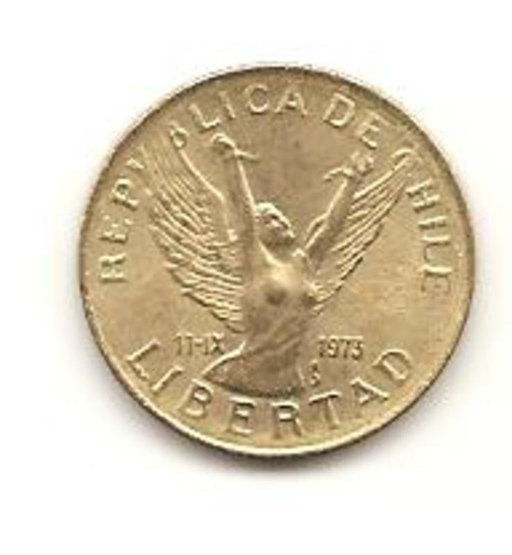 5 Pesos. Chile. 1989  Image