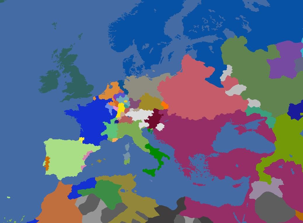 "MP-""Europa Divisa"" 1714"