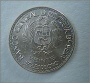 20 Soles de oro 1965 Peru Image