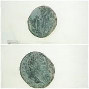 As de Aelio Vero. TR POT COS II - S C. Spes y Fortuna estantes y enfrentadas. Ceca Roma. Pics_Art_01_20_01_14_46