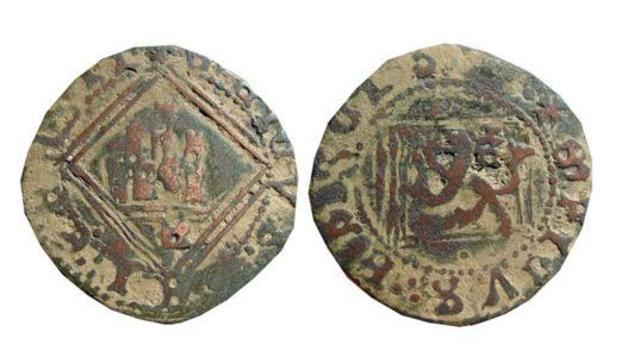 Enrique IV - Blanca del ordenamiento de Segovia de 1471 o del rombo.  0_b_rom_avila