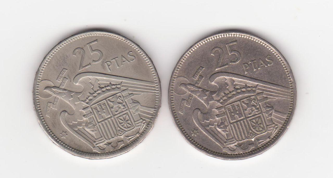 25 pesetas 1957 (*73). Francisco Franco 25_pesetas_1975_73_002