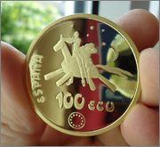 100 ECU 1994  es una moneda ,medalla,que es ? Image