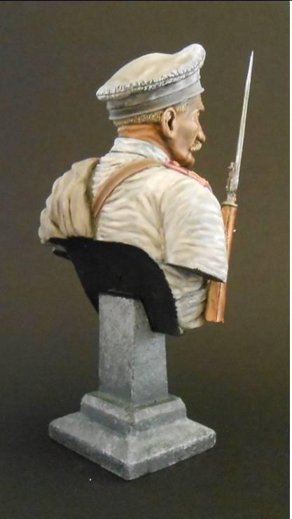 Soldat Russe, 12e Régiment de Tirailleurs Sibérie orientale 1904 Neu_9