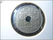 50 centimos 1949 *53 estado español DSC04762