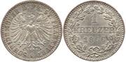 ALEMANIA - FRANKFURT;  1 Kreuzer 1866 Alemania_-_Frankfurt_-_367_1_Kreuzer_1866