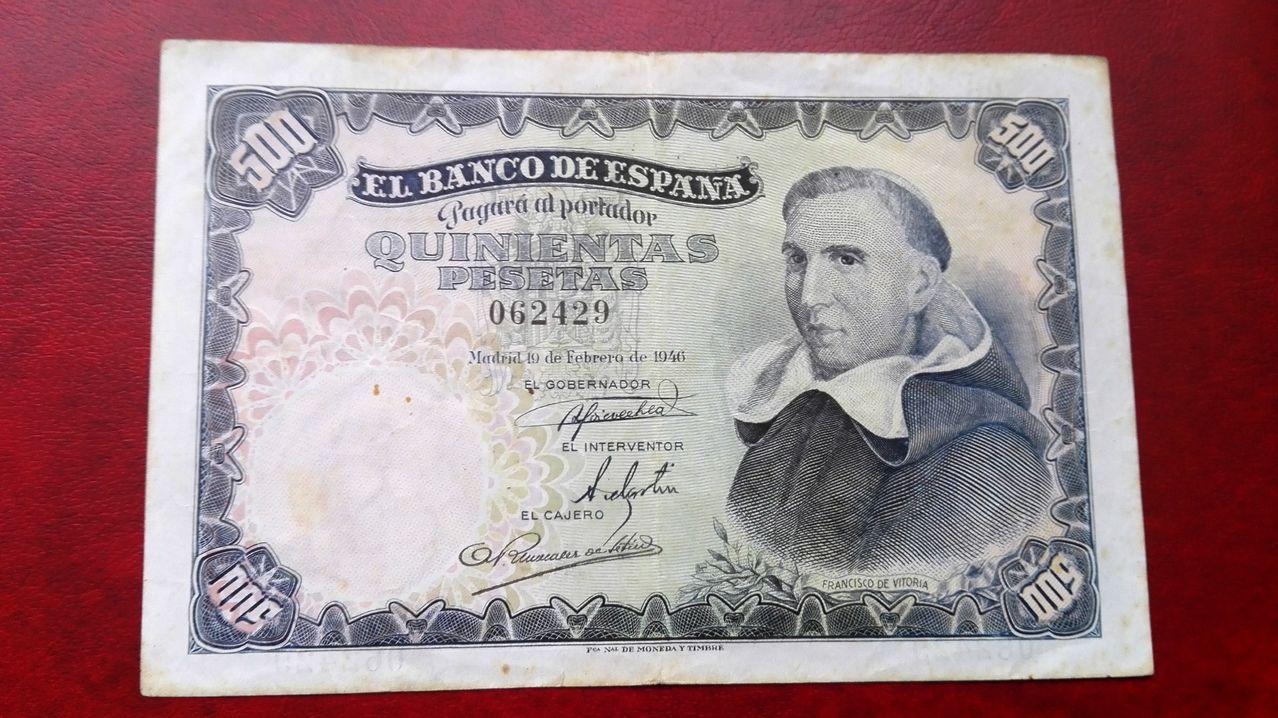 1946 - 500 pesetas 1946 500_1946