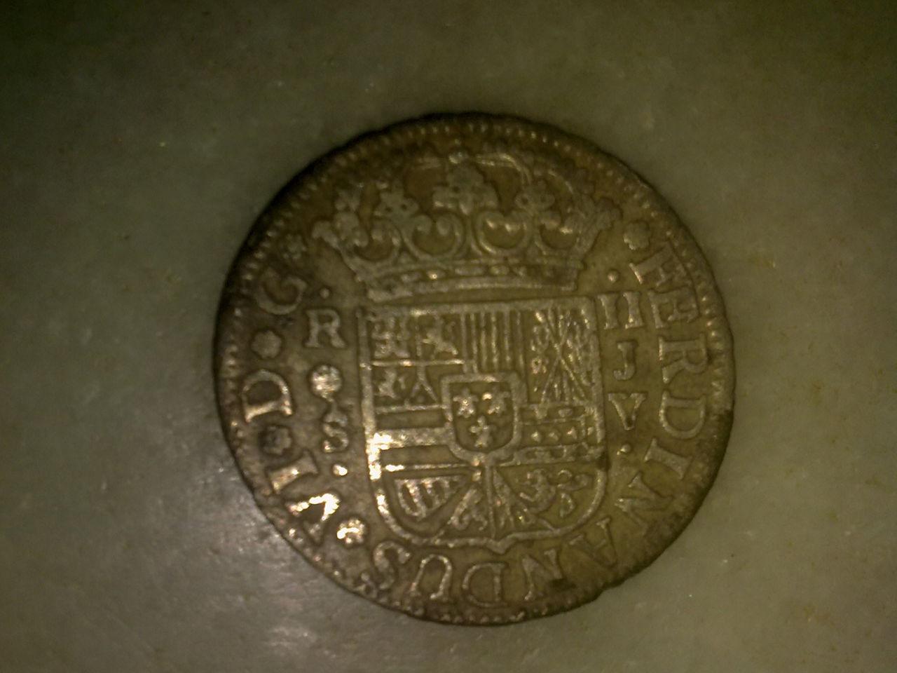 2 reales de Fernando VI, Sevilla. 1758. Mm_003