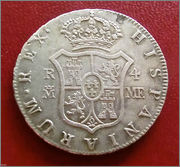 4 reales 1796. Carlos IV. Madrid 57_2