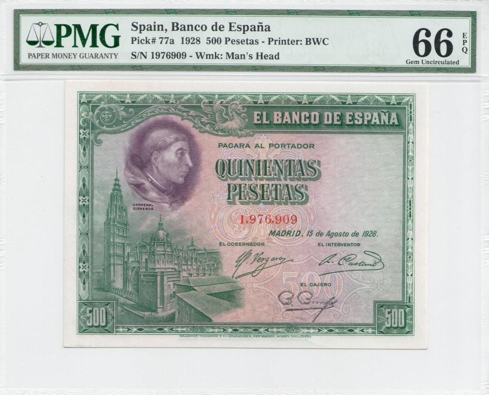 Colección de billetes españoles, sin serie o serie A de Sefcor - Página 3 500_del_28_anverso