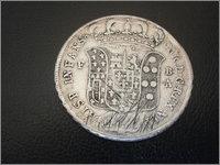 Piastra Infante Carlos III 1735 Napoles P5190016