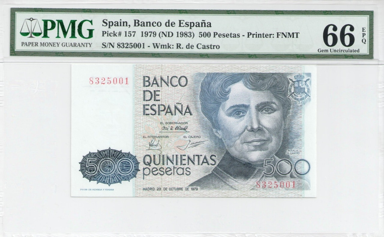 Colección de billetes españoles, sin serie o serie A de Sefcor - Página 3 500_ptas_79_anverso