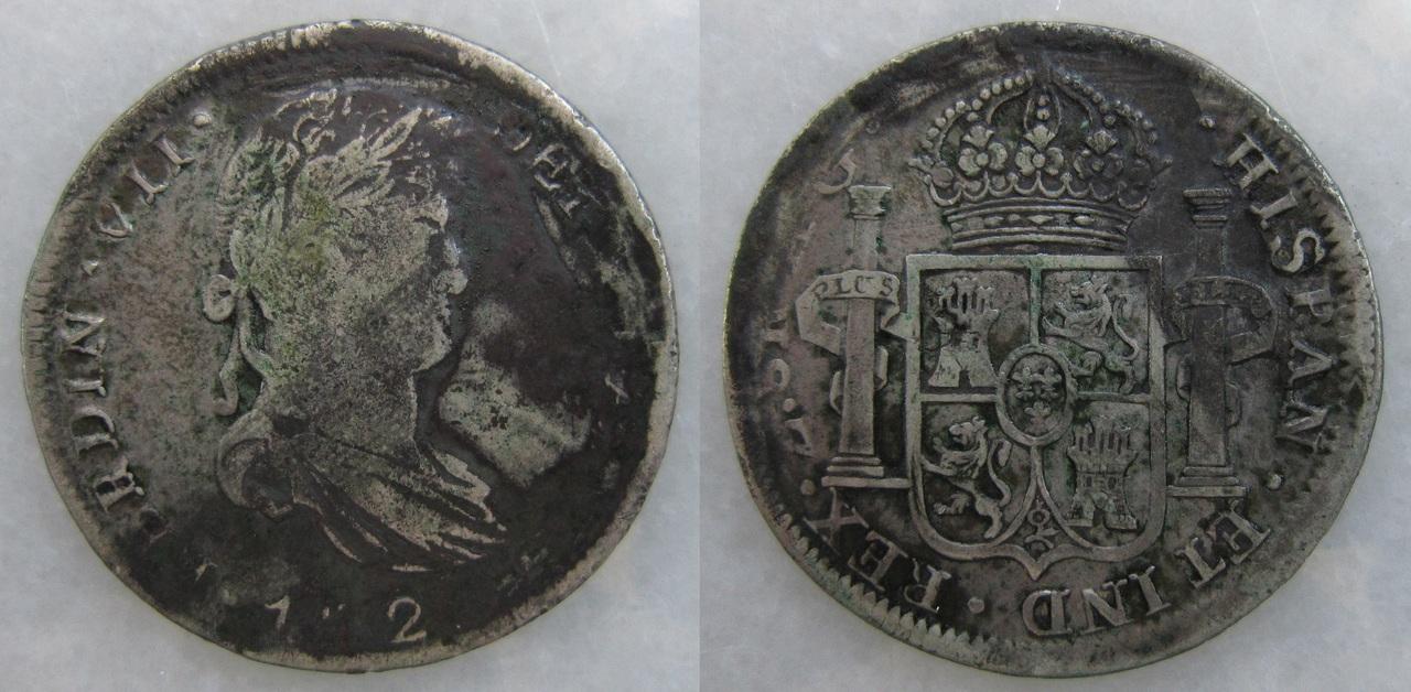 8 Reales 1820. Fernando VII. Zacatecas 8_reales_1820_Zacatecas_Fernando_VII