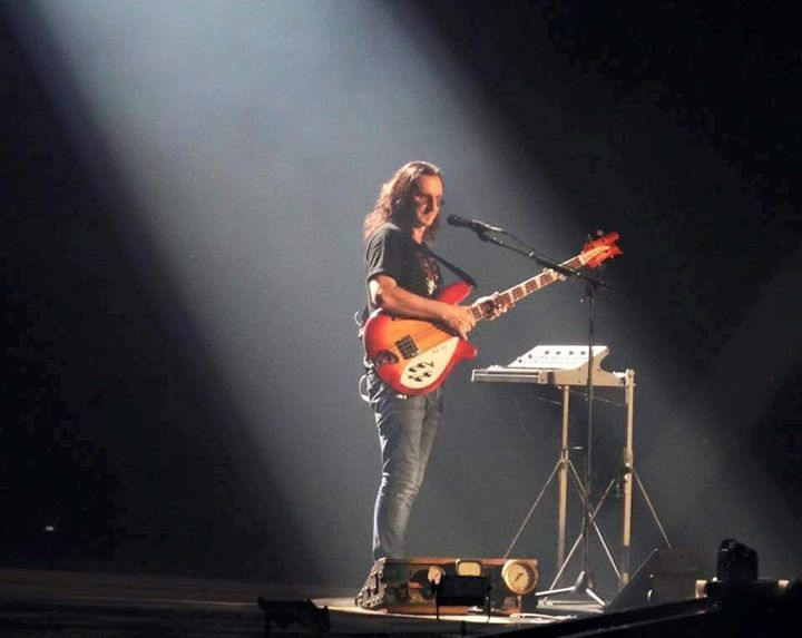 Geddy Lee - Rush R40 Tour 2015  4005